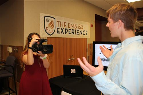 Audio and Video Technology students showcase their work at Taste of Northwest.