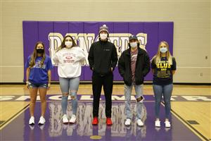Chisholm Trail High School athletes