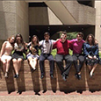 Saginaw HS choir students pose for a picture at UIL State Solo & Ensemble contest.
