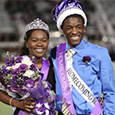 CTHS Homecoming Queen and King.