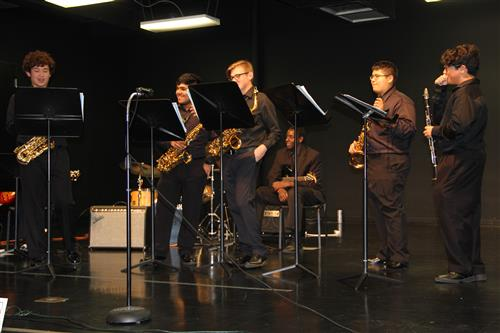 CTHS Jazz Combo performs at Taste of Northwest.