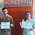 Two seniors named U.S. Champions at Space Settlement Design Competition