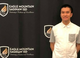 Saginaw High School senior, Stephen Le, has been named National Merit Scholarship Finalist.