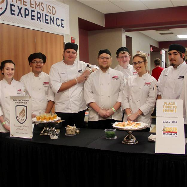 Group photo of HCTC students at Taste of Northwest