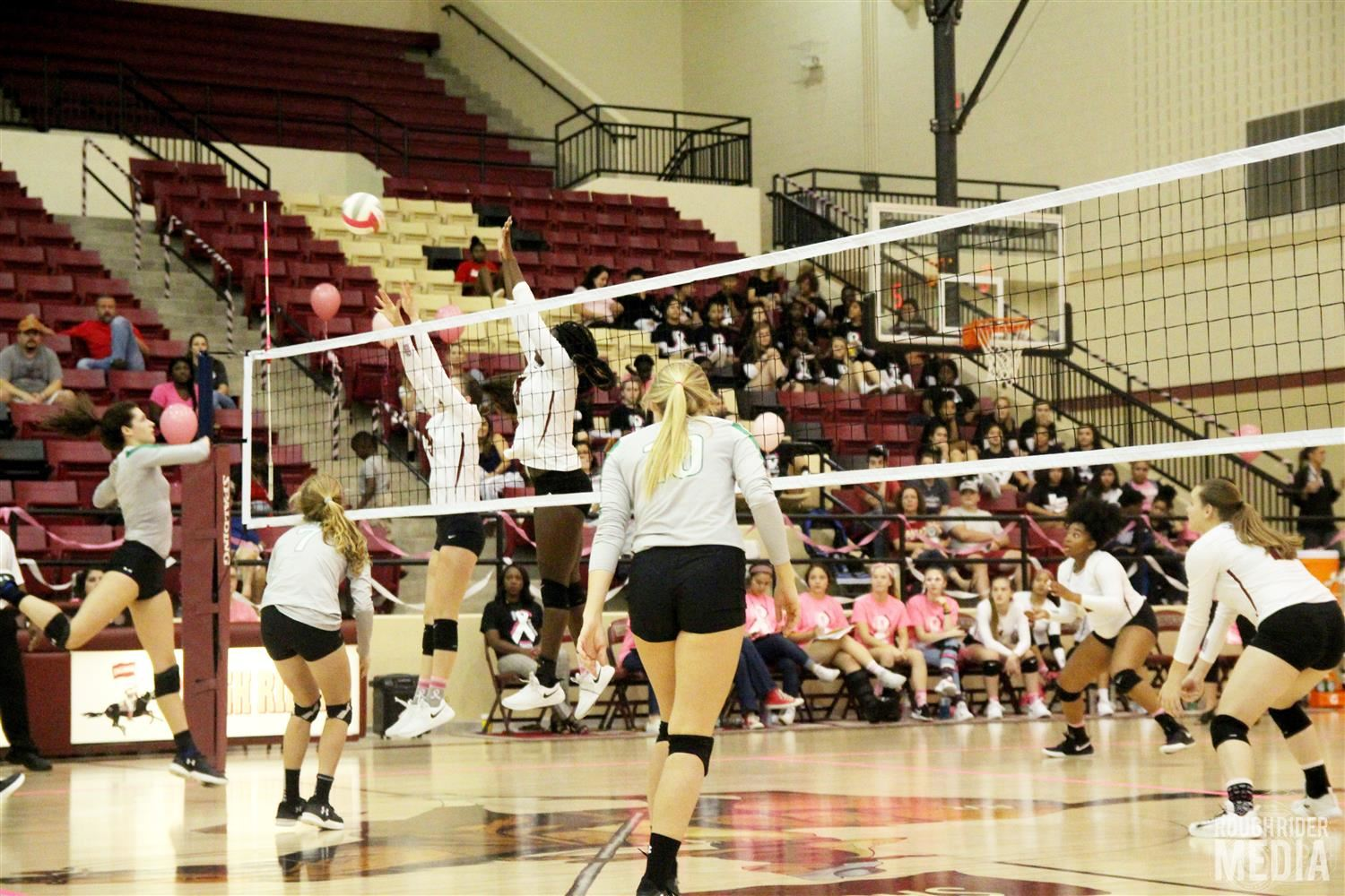 photo of SHS volleyball courtesy of Rough Rider Media