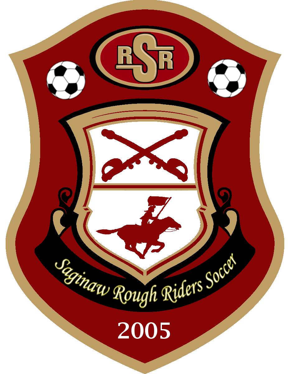 RSR - Saginaw Rough Riders Soccer, est 2005 - linked to Official Athletics Site of Saginaw Rough Riders