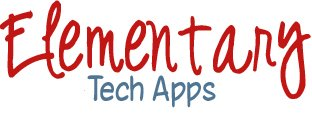 Elementary Tech Apps written in script font