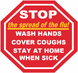Health officials encourage proactive steps to combat the flu...