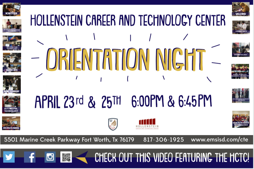 HCTC Orientation Nights for the 2019-20 school year