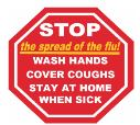 Health officials encourage proactive steps to combat the flu