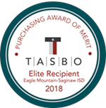 Recipient of TASBO Elite Award of Merit for Purchasing Operations