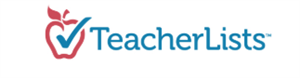 TeacherLists Logo - linked to https://www.teacherlists.com/browse/city/fort-worth/Texas
