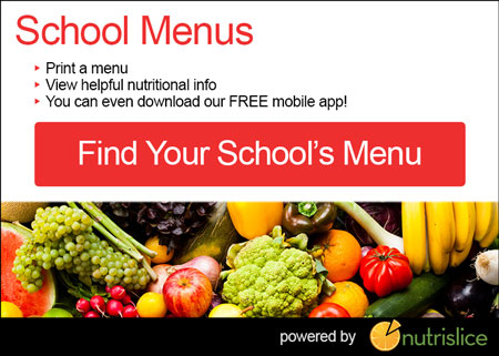 NutriSlice School Menus linked to site