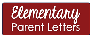 Elementary Parent Letters