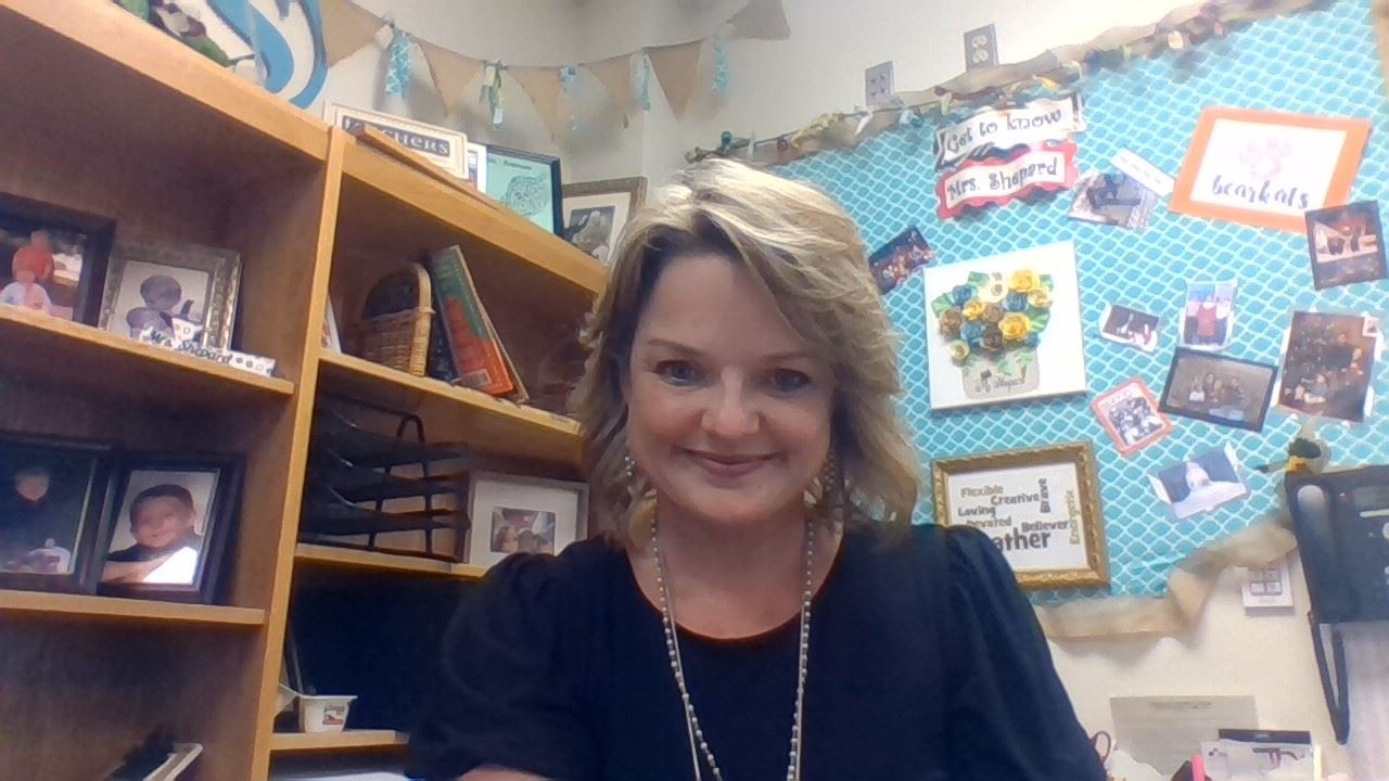 Photo of Mrs. Shepard in her classroom